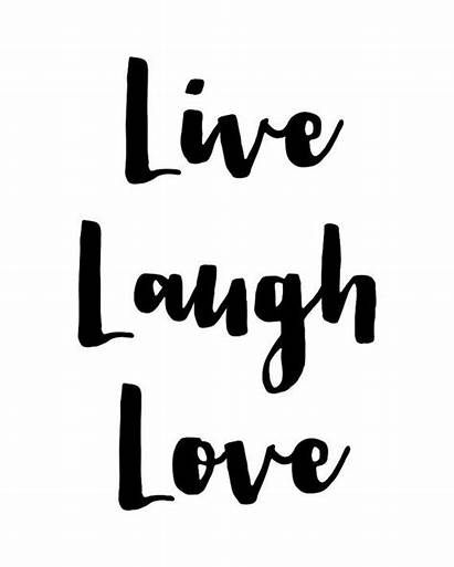 Laugh Quotes Printable Poster Quote Inspirational Typography