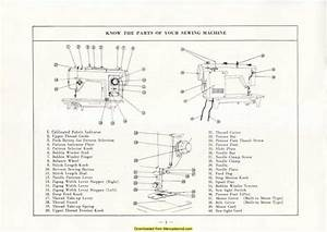 Jones Deluxe Sewing Machine Instruction Manual In 2020