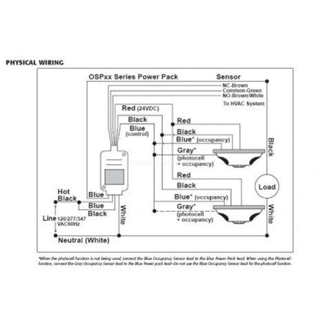 ceiling mounted vacancy sensor wiring diagram ceiling