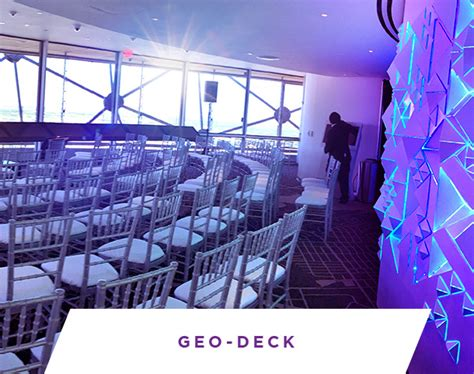 reunion tower geo deck dallas tx five sixty