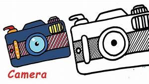 Cartoon Camera Drawing At Getdrawings