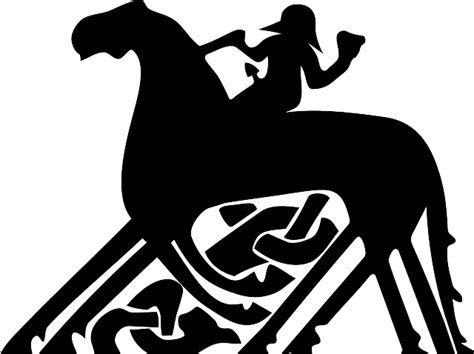 vector graphic celtic horse archeology