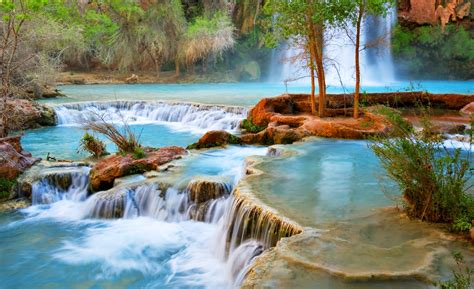 Havasu Falls Arizona United States Feel The Planet