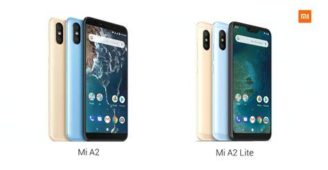 xiaomi launches mi a2 and mi a2 lite smartphones in spain