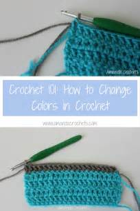crochet how to change colors how to change colors in crochet amanda crochets
