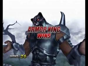 Tekken 5: DR - Armor King Intro & Win Animations - YouTube