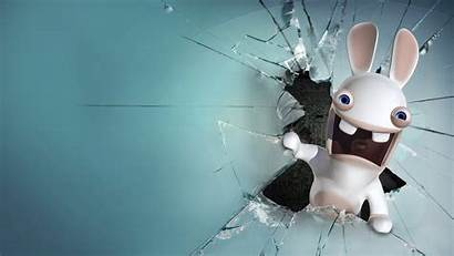 Rabbids Komik Wallpapers Raving Resimleri Funny Desktop
