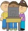 Image result for Kid With Computer Clipart