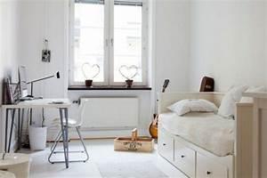 Deco Chambre Blanche : 24 id es pour la d coration chambre ado ~ Zukunftsfamilie.com Idées de Décoration