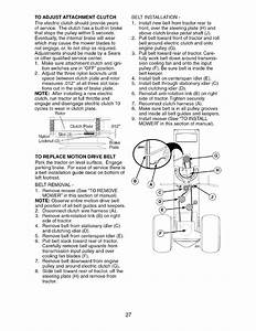 Page 27 Of Craftsman Lawn Mower 917 276920 User Guide