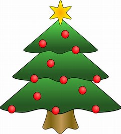 Image result for christmas tree cartoon clip art