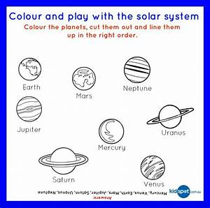 Fruity Solar System - FREE Printable - Food Fun For Kids