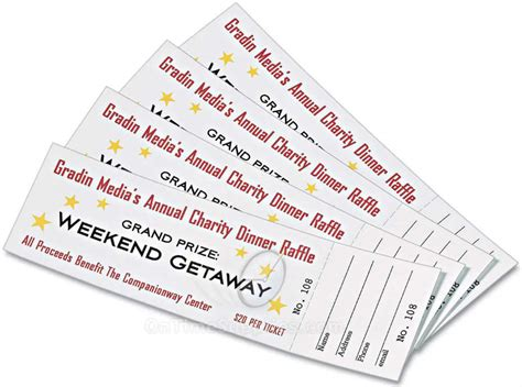 ticket stub template image 7 best images of avery raffle tickets printable avery