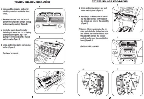 Toyotum Solara Jbl Wiring Diagram by 2004 Toyota Solarainstallation