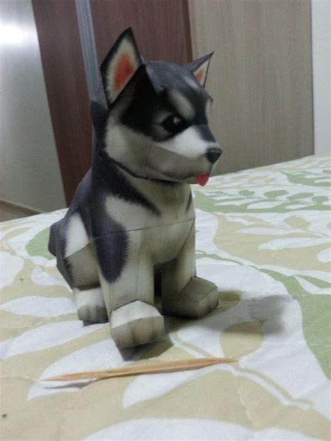 Husky Puppy Papercraft Ii By Bslirabsl On Deviantart Papercraft Pinterest Papercraft