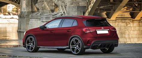 2019 Mercedesbenz Glaclass Rendered With Matte Red Paint