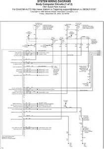 similiar buick park avenue wiring diagram keywords 1997 buick park avenue system wiring diagrams body computer circuits