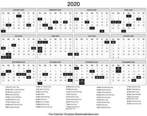 printable calendar dream calendars