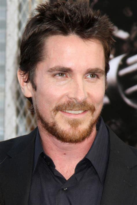 Christian Bale Batman Editorial Stock Photo Image