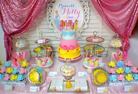 Pretty Disney Princess Party  Little Wish Parties