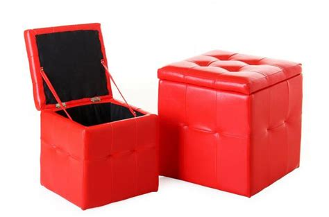 pouf cube pas cher lot de 2 pouf coffre similicuir pouf design pouf g 233 ant pas cher