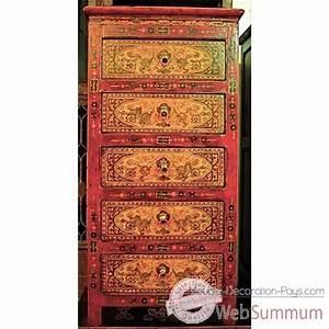 Maison Du Monde Chiffonnier : chiffonnier dans meuble chinois sur meuble decoration pays ~ Teatrodelosmanantiales.com Idées de Décoration