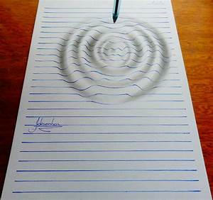 15-Year-Old Artist Creates Remarkable Lined Paper 3D ...