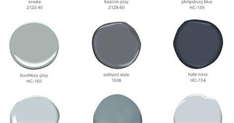 selling blues  grays  benjamin moore paints