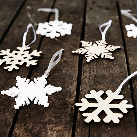 arctic snowflake decorations by sophia victoria joy