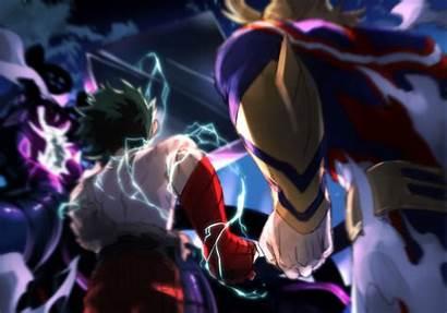 Might Academia Hero Deku Midoriya Heroes Izuku