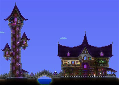 Wizard's Tower And Library