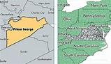 Prince George County, Virginia / Map of Prince George ...