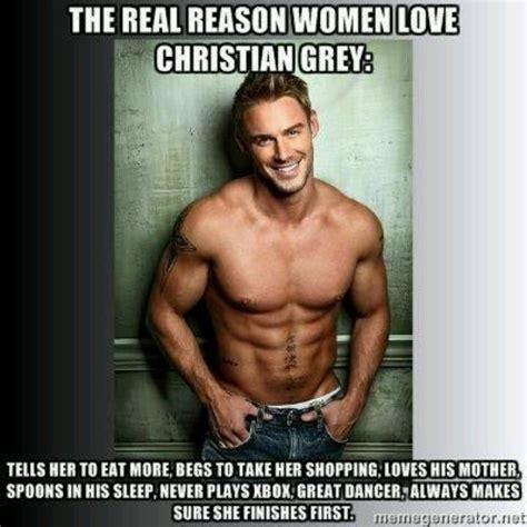 Hot Men Memes - christian grey perfect man but photo not good choice wow pinterest christian grey grey