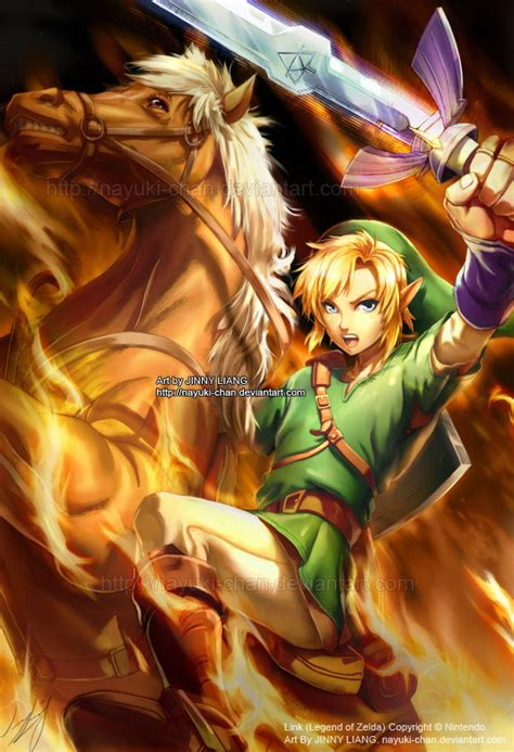 Link Legend Of Zelda By Nayuki Chan On Deviantart