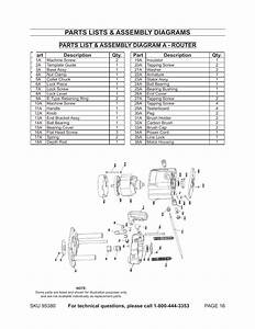 Parts Lists  U0026 Assembly Diagrams  Parts List  U0026 Assembly