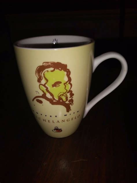 Find new and preloved barnes & noble items at up to 70% off retail prices. Coffee With Michelangelo Mug or Cup Barnes & Noble | eBay
