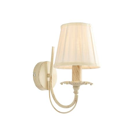endon 60929 chester single wall light brushed gold