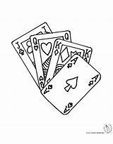 Poker Da Colorare Coloring Carte Gioco Disegno Disegni Stampare Pages Per Di Bambini Cards Playing Gratis Tattoo Card Chips Disegnidacolorareonline sketch template