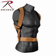 Rothco Combat Suspenders, Men's, Brown