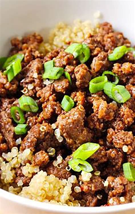 recipes with ground beef quinoa ground beef recipe