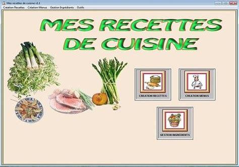 recettes de cuisine gratuites t 233 l 233 charger mes recettes de cuisine pour windows shareware