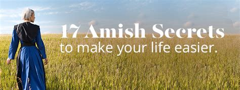 amish secrets    life easier amish outlet store