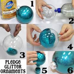 diy pledge glitter ornament pictures photos and images for and