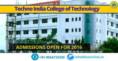 Techno India College of Technology Kolkata Admission 2016 ...