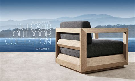 Restoration Hardware Introducing 2018 Rh Outdoor Collection by Rh Modern Homepage