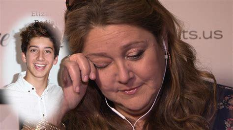 actress camryn manheim tears  watching son milos sweet