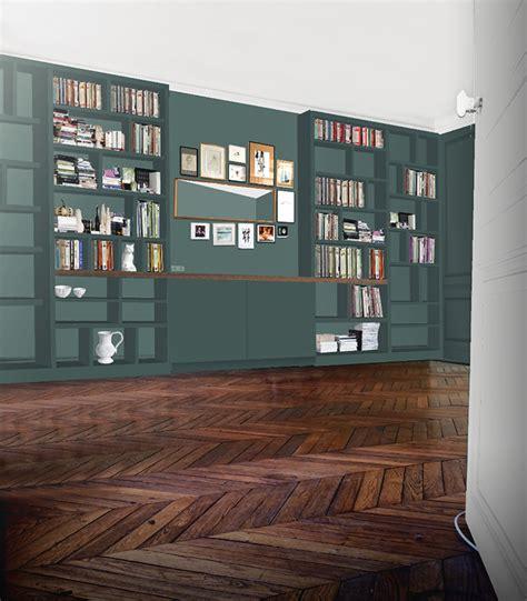 bureau pas cher design une bibliothèque sur mesure lili barbery