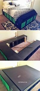 Ikea Hacks Podest : diy platform bed ideas diy projects craft ideas how to s for home decor with videos ~ Watch28wear.com Haus und Dekorationen