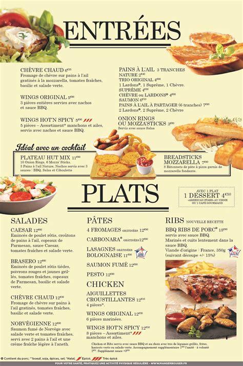 Carte De Menu Restaurant by Pin Carte Restaurant On