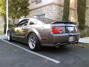 Ducktail Style Rear Trunk Spoiler for 2005-2009 Ford Mustang GT500 Black | eBay